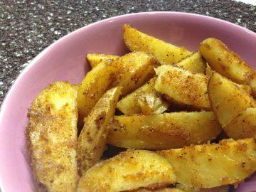 Картошка жареная в духовке