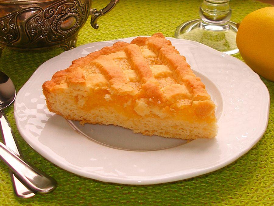 Лимонник пирог песочный рецепт с