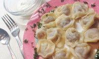 Самые вкусные пельмени на дрожжевом тесте, пошаговый рецепт