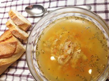 Суп фляки