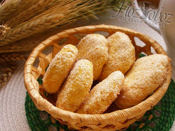 Выпекать кукурузное печенье следует примерно 18 минут при температуре 180 градусов