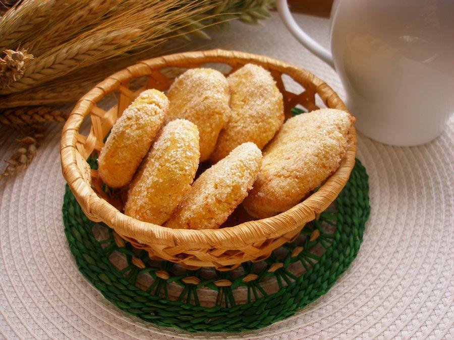 рецепт печенья песочного с кукурузной мукой