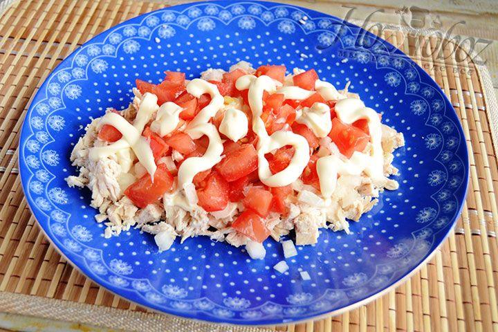 Снова сдобрим салат майонезом