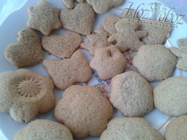 Выпекать такое печенье следует в духовке при температуре 180 градусов не менее 8 минут