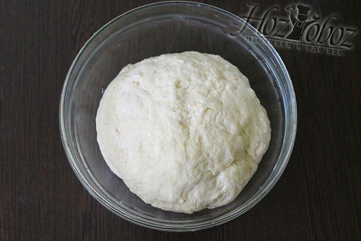 Теперь готовое тесто помещаем в холодильник