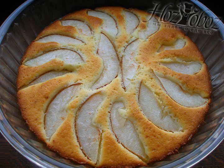 Разогреваем духовку до 180 градусов и выпекаем пирог примерно 35 минут после чего проверяем готовность с помощью деревянной шпажки или спички. Вот все и готово пора к столу!!!