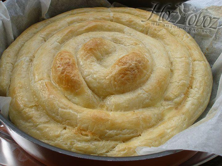 греческая улитка с сыром рецепт