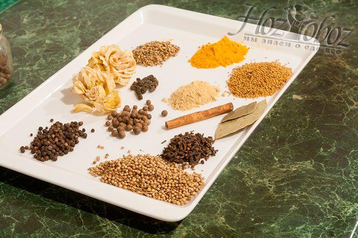 Взвесим и заготовим все необходимые ингредиенты