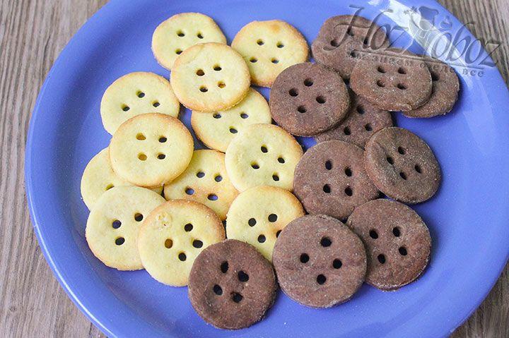 Готовое печенье остужаем примерно 15 минут