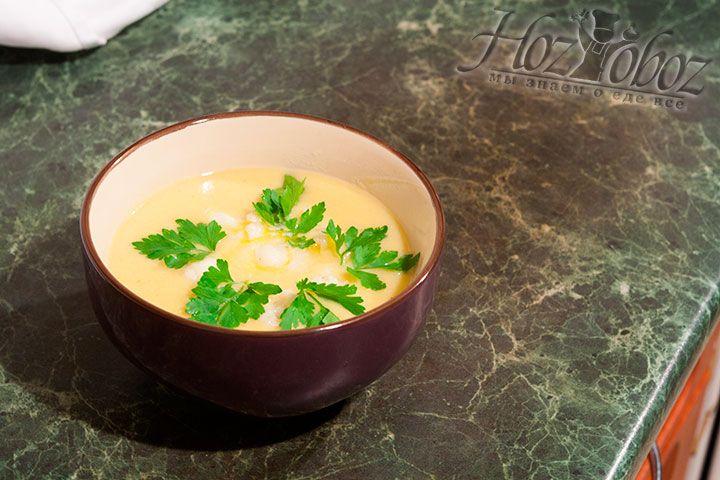 Очень рекомендуем также поместить в тарелку свежую петрушку и вперед - приятного всем аппетита!