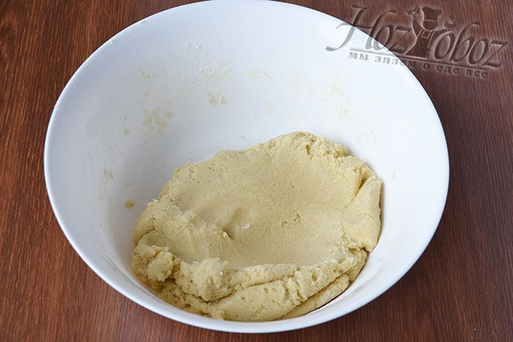 Песочное тесто для корзинок готово! Его нужно слегка охладить