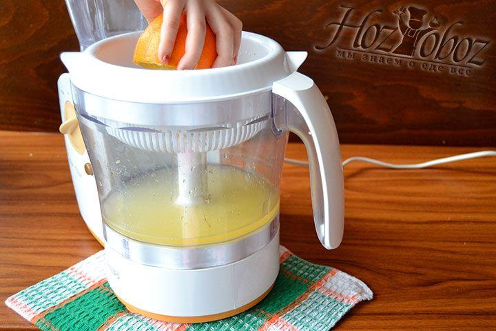 Выжмите сок из апельсинов
