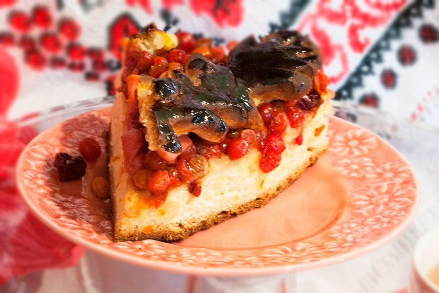 пирог с калиной рецепт с фото