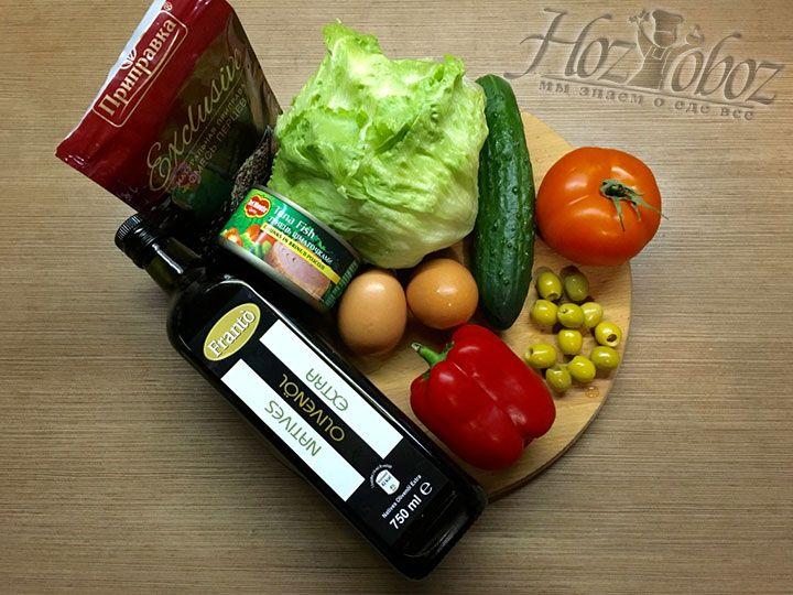 Для начала подготовим необходимые ингредиенты
