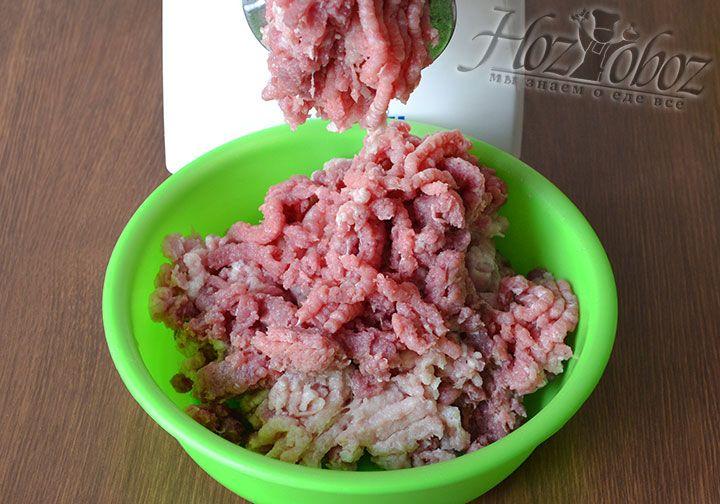 Перекрутим мясо на мясорубке