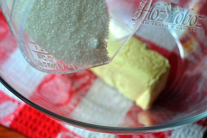 Добавьте половину нормы сахара