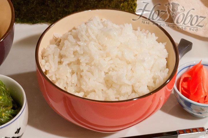 Рис для суши полностью готов