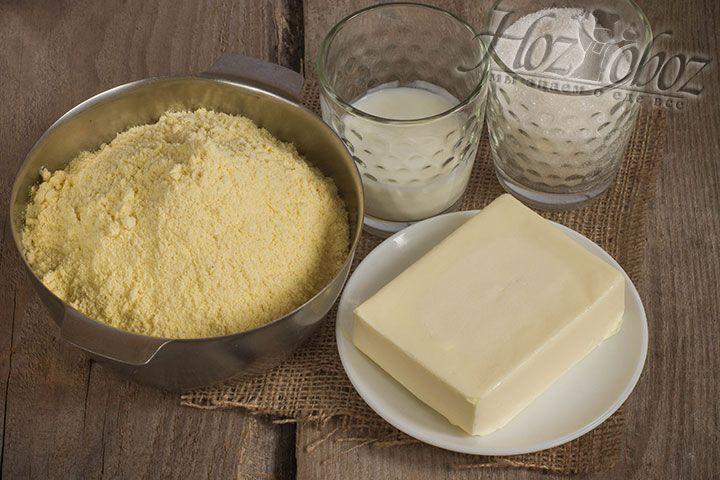 Подготовим и отмерим все необходимые для приготовления печенья продукты