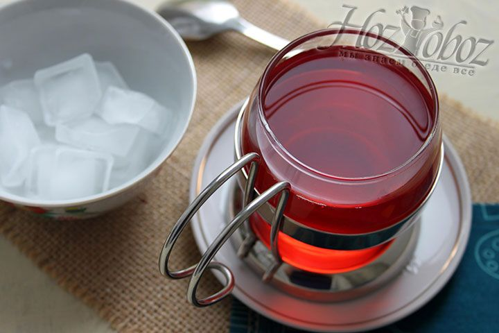 Вот и все что нужно для приготовления полезного и вкусного напитка под названием клюквенный морс. А теперь просто добавляйте лед и приятного аппетита