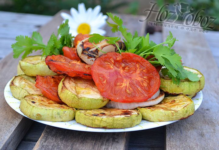 Домашние овощи на мангале, рецепт которых мы рассказали сегодня, готов!
