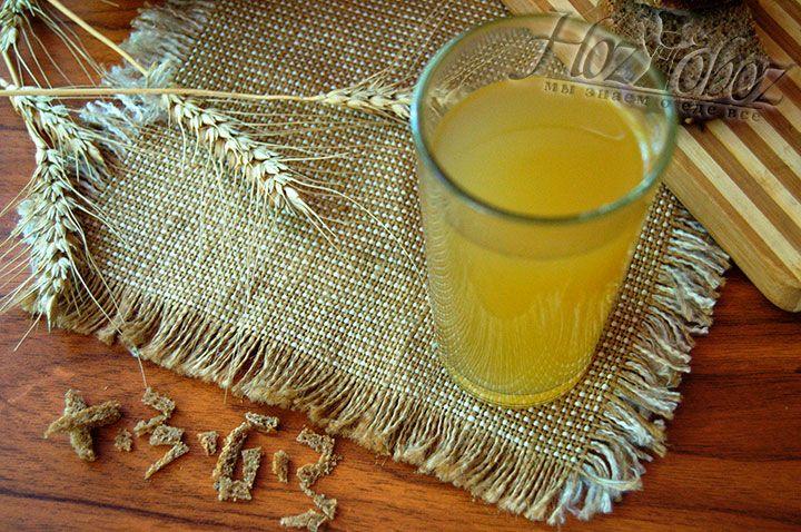 Пейте квас в охлажденном состоянии