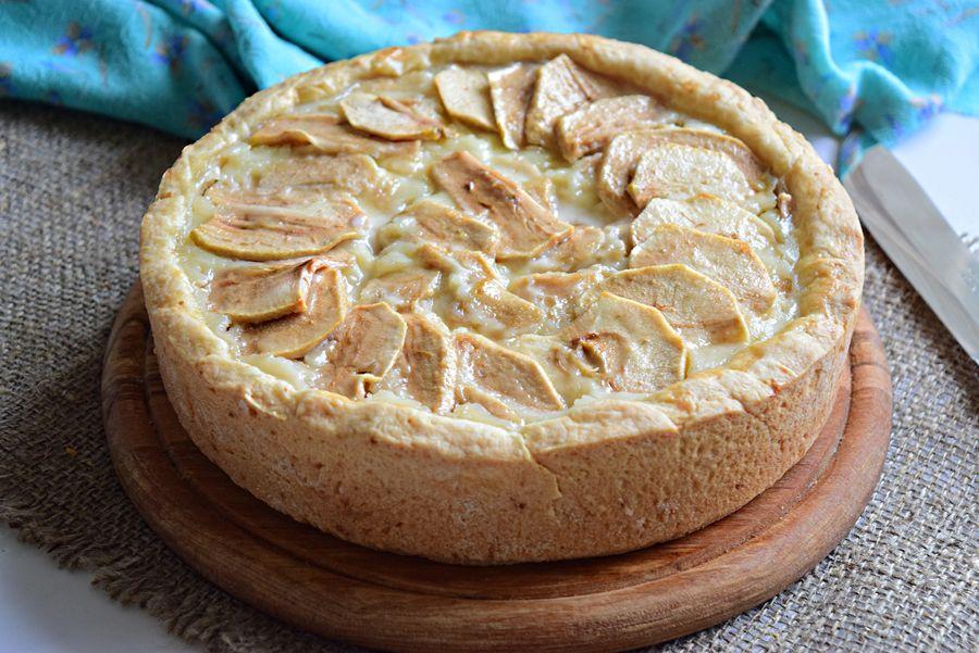 Рецепт цветаевского пирога с яблоками с