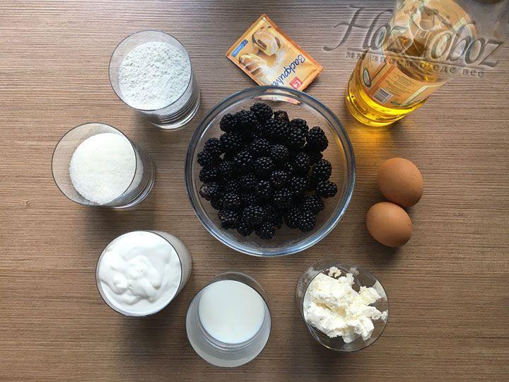 Для начала подготовим предусмотренные для приготовления ингредиенты