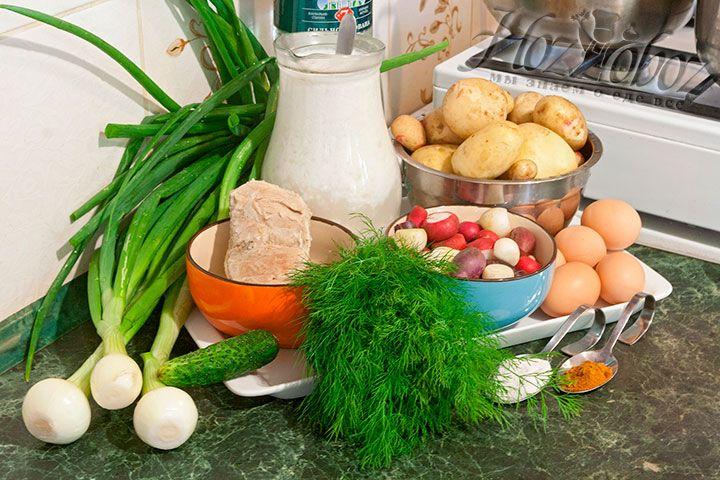 Продукты для окрошки ХозОбоз предпочитает выращивать и готовить самостоятельно, или выбирает среди лучших фермерских предложений