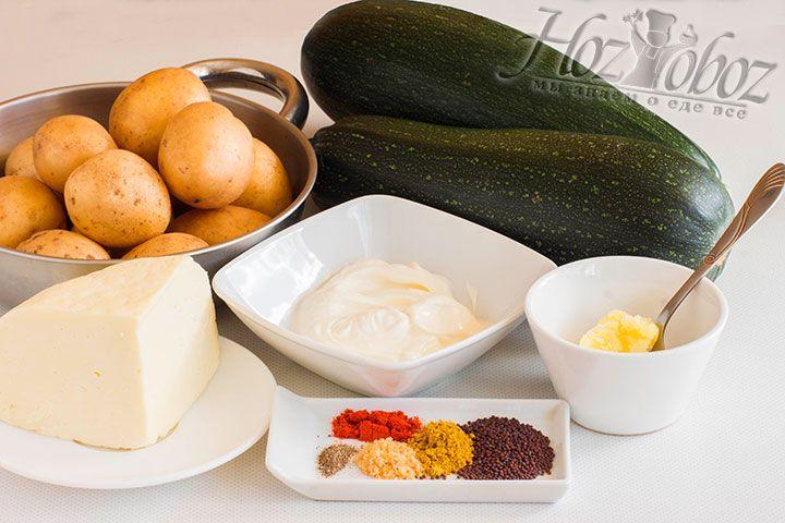 Подготовим все необходимые для сабжи продукты