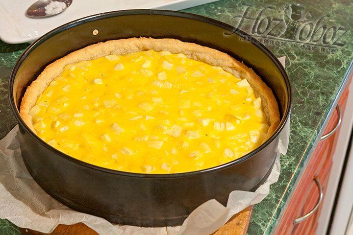 Промежуточная готовность пирога