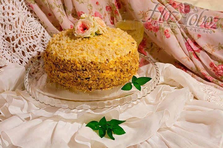 Готовый торт Молочная девочка