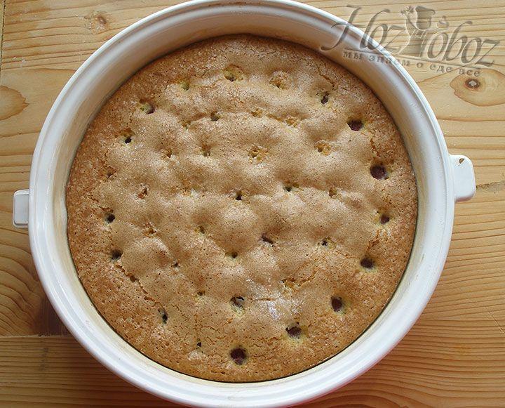 Пирог выпекаем до готовности