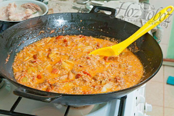 Так выглядит готовый соус болоньезе
