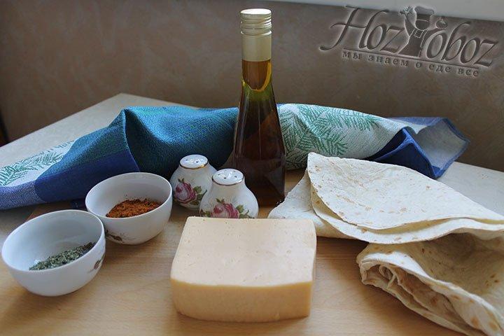 Что приготовить чипсы из лаваша в духовом шкафу воспользуемся следующими продуктами