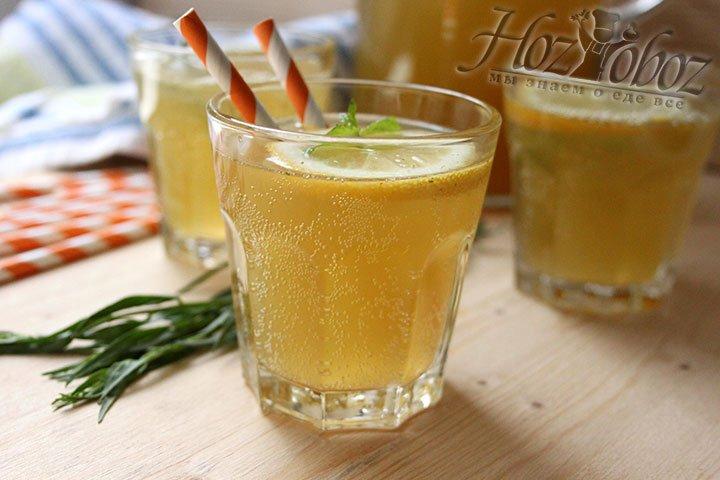 Домашний цитрусовый лимонад с ярким вкусом