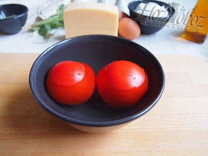 Очистим томаты