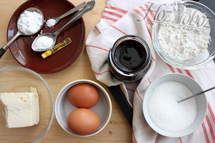Продукты для приготовления венского печенья