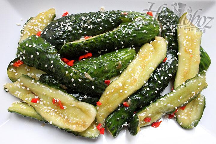 Сервируем «битый» салат