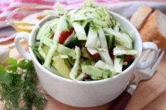 Капустный салат рецепт