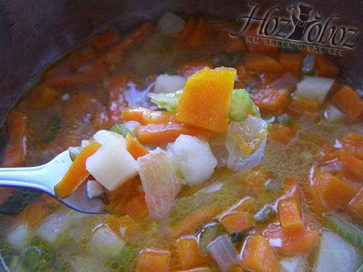 Формируем суп путем соединения всех компонентов