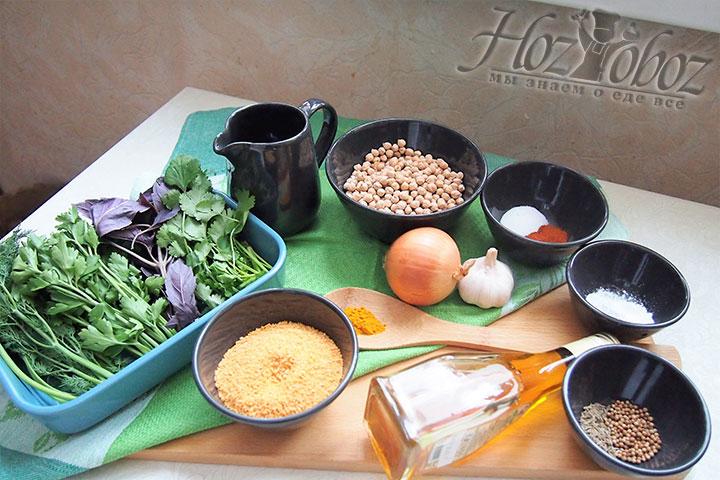 Для приготовления блюда нужны такие продукты