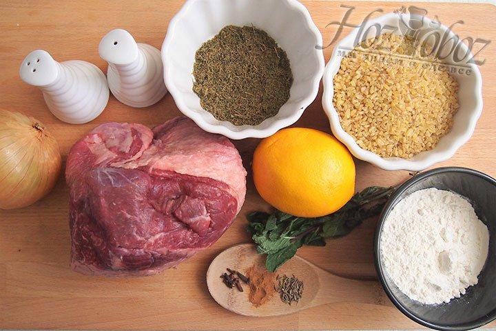 Для блюда нужны следующие продукты