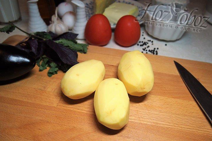 Приготовим картошку
