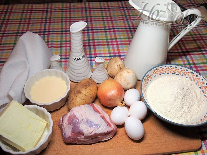 Подготовим все необходимое для курника