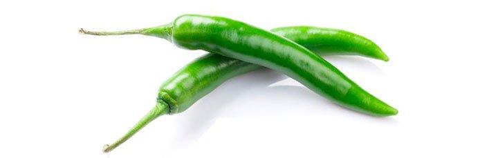 Острый зеленый перец из Иордании