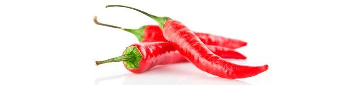 Красный перец из Италии
