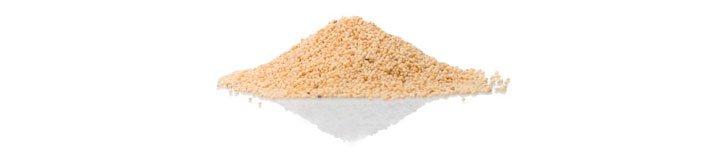 Белые семена мака (papaver samniferum)
