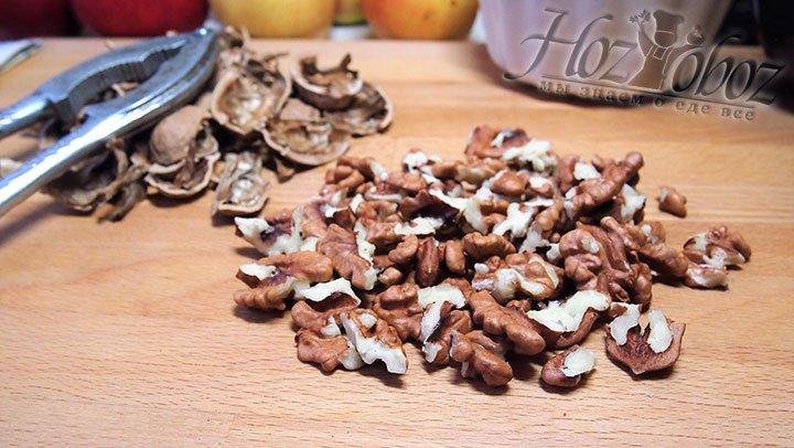Орехи освободим от скорлупы