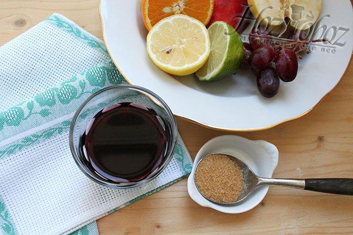 Сухое красное вино, натуральный подсластитель