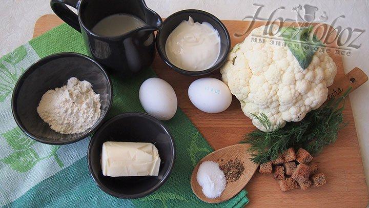 Суп дюбарри приготовим из таких продуктов